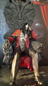 Castlevania 2 statue at Eurogamer 2013