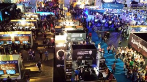 Eurogamer Expo 2013 from above