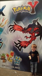 Samuel and Pokemon
