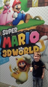 Samuel and Super Mario 3D World